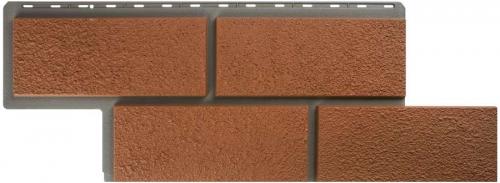 Фасадная панель Камень Неаполитанский (терракотовый)
