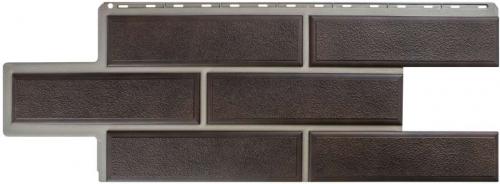 Фасадная панель Камень Венецианский (коричневый)