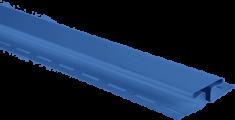"""Планка """"соединительная"""", 3м, цвет Синий"""