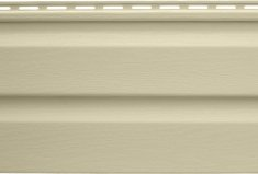 Панель виниловая Альта-Сайдинг кремовая, 1,83м