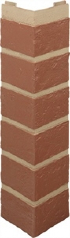 Наружный угол Кирпич красный